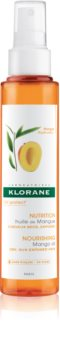 Klorane Mango λάδι για ξηρά μαλλιά