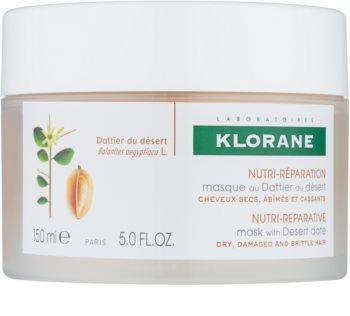 Klorane Dattier du désert masque nourrissant pour cheveux cassants et stressés