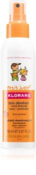 Klorane Junior spray para fácil penteado de cabelo