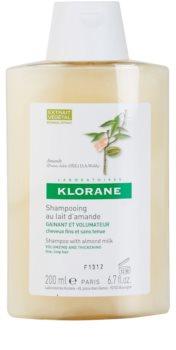 Klorane Almond champú para dar volumen