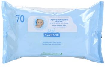 Klorane Bébé toalhitas de limpeza para crianças