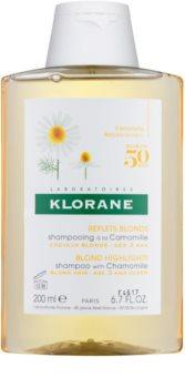 Klorane Chamomile champô para cabelo loiro e grisalho