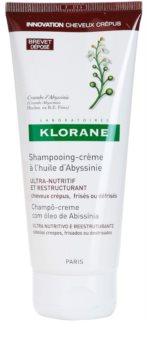 Klorane Crambe d'Abyssinie champô renovador para cabelo ondulado