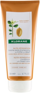 Klorane Desert Date acondicionador para cabello castigado y quebradizo