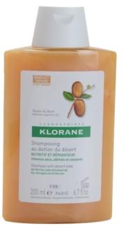 Klorane Dattier du désert shampoing pour cheveux cassants et stressés