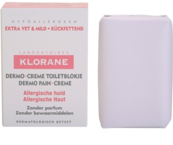 Klorane Dermo Pain Creme sabonete para pele alérgica
