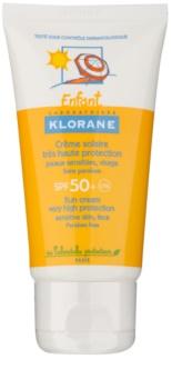 Klorane Kids opaľovací krém pre deti SPF 50+