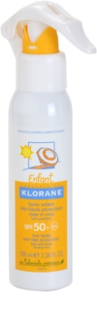 Klorane Kids spray bronzeador para crianças  SPF 50+