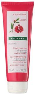 Klorane Pomegranate acondicionador sin aclarado para cabello teñido