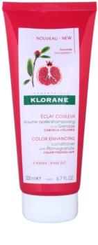 Klorane Pomegranate acondicionador para reavivar el color