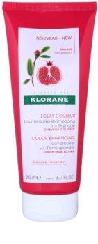 Klorane Pomegranate кондиціонер для оживлення кольору