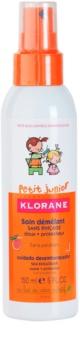 Klorane Junior sprej pre jednoduché rozčesávanie vlasov