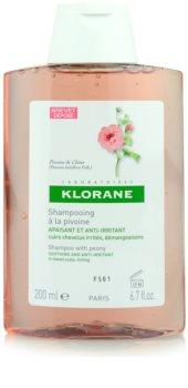 Klorane Peony šampon za smirenje osjetljivog vlasišta