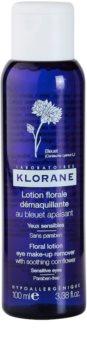 Klorane Cornflower lozione struccante per occhi sensibili