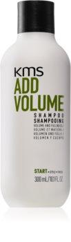 KMS California Add Volume šampon za tanku kosu bez volumena za volumen od korijena