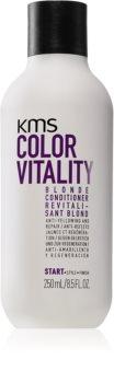 KMS California Color Vitality kondicionér pro blond a melírované vlasy