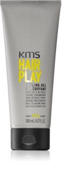 KMS California Hair Play Muotoilugeeli Sileille Ja Kiiltäville Hiuksille