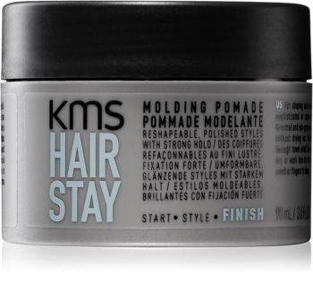 KMS California Hair Stay pomáda na vlasy silné zpevnění