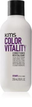 KMS California Color Vitality vyživující kondicionér pro barvené vlasy