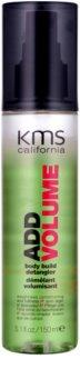 KMS California Add Volume spray para dar volumen para facilitar el peinado
