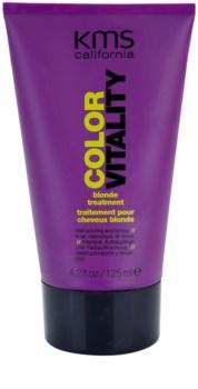 KMS California Color Vitality tratamiento regenerador  para cabello rubio y con mechas