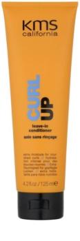 KMS California Curl Up acondicionador nutritivo sin aclarado   para cabello ondulado