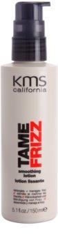 KMS California Tame Frizz leche alisante para facilitar el peinado
