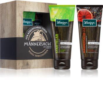 Kneipp Men's Thing Geschenkset (Für Körper und Haar) für Herren
