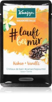Kneipp #Run With Me Cocoa & Vanilla fürdősó