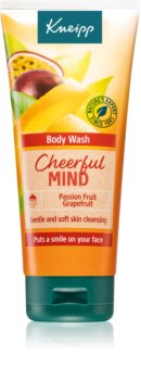 Kneipp Cheerful Mind Passion Fruit & Grapefruit gel doccia energizzante
