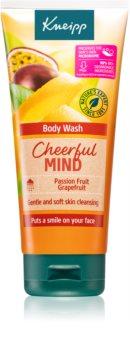 Kneipp Cheerful Mind Passion Fruit & Grapefruit gel douche booster d'énergie