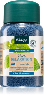 Kneipp Pure Relaxation Lemon Balm sůl do koupele s minerály