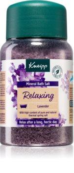 Kneipp Relaxing Lavender sel de bain aux minéraux