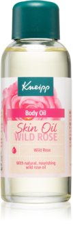 Kneipp Wild Rose huile pour le corps avec roses sauvages