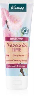 Kneipp Favourite Time Cherry Blossom питательный крем для рук