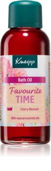 Kneipp Favourite Time Cherry Blossom pflegendes Öl für das Bad