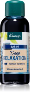 Kneipp Deep Relaxation Patchouli & Sandalwood olio da bagno