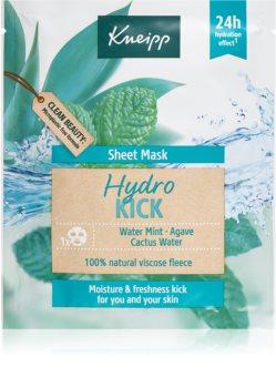 Kneipp Sheet Mask Hydro Kick hydratační plátýnková maska