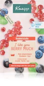 Kneipp I like you berry much Badesalte