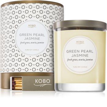 KOBO Coterie Green Pearl Jasmine mirisna svijeća