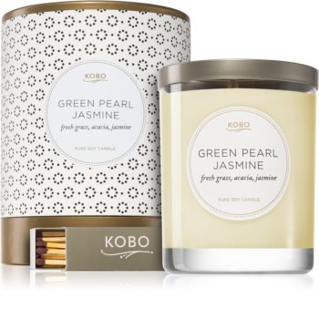KOBO Coterie Green Pearl Jasmine scented candle
