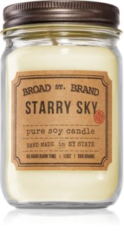 KOBO Broad St. Brand Starry Sky bougie parfumée (Apothecary)