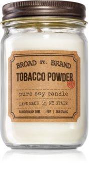 KOBO Broad St. Brand Tobacco Powder Tuoksukynttilä (Apothecary)