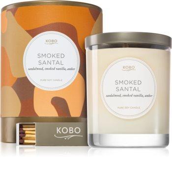 KOBO Camo Smoked Santal lumânare parfumată