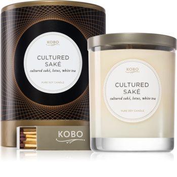 KOBO Filament Cultured Saké Duftkerze