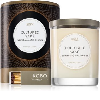 KOBO Filament Cultured Saké scented candle