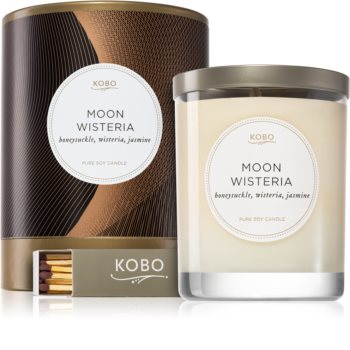KOBO Filament Moon Wisteria scented candle