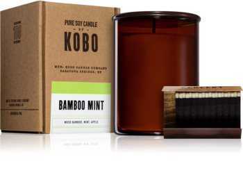 KOBO Woodblock Bamboo Mint scented candle