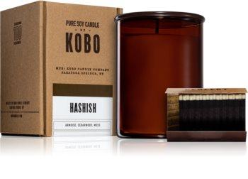 KOBO Woodblock Hashish illatos gyertya