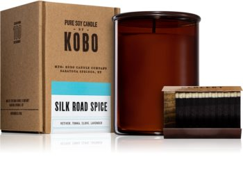 KOBO Woodblock Silk Road Spice vonná sviečka